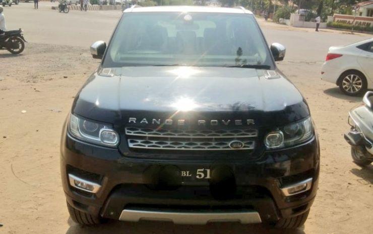 Range Rover Seized