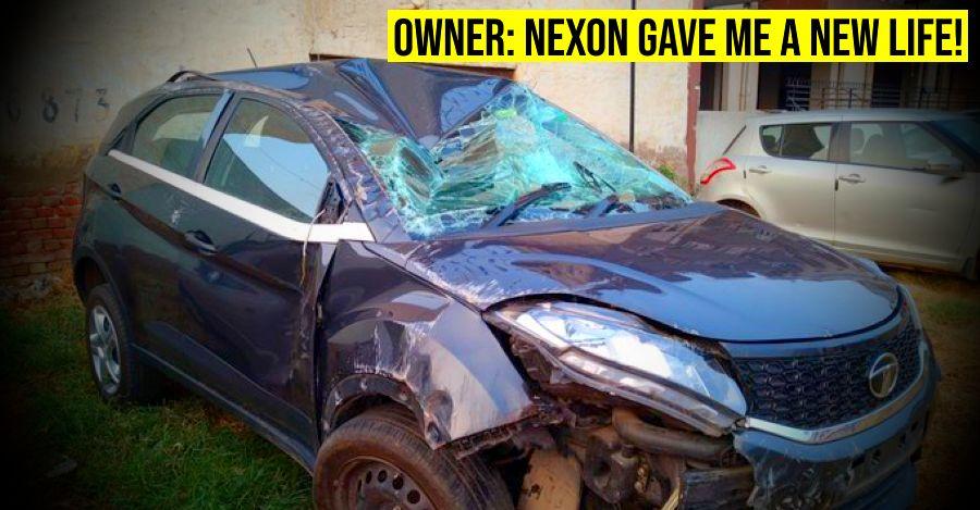 Tata Nexon Crash Featured