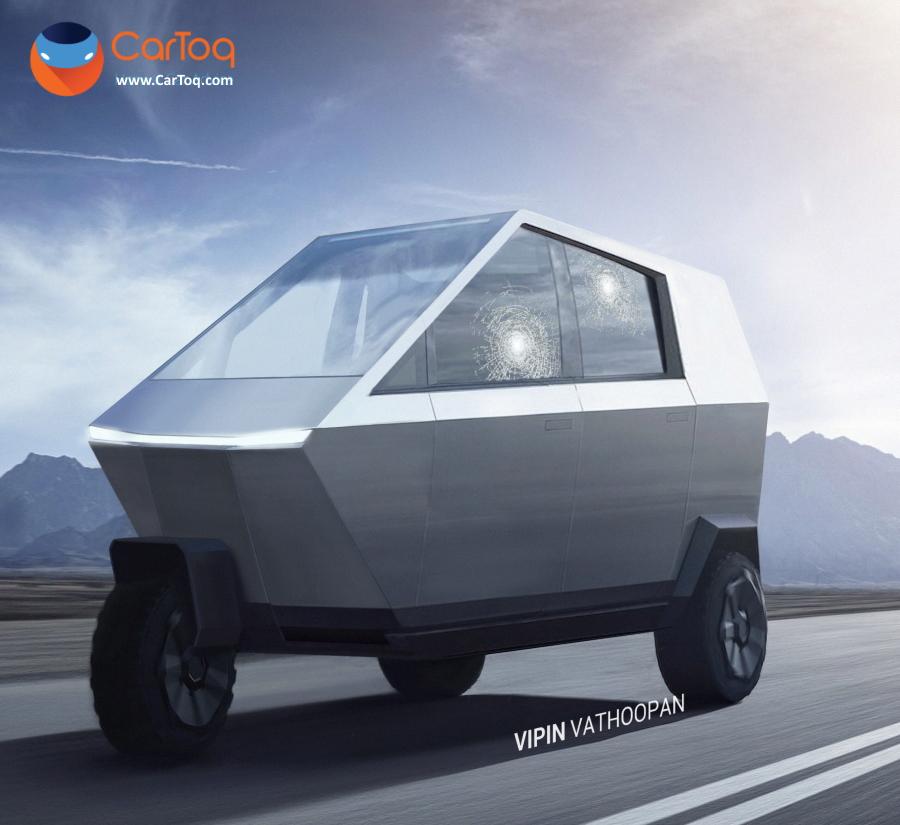Tesla Cyber Tuktuk Main