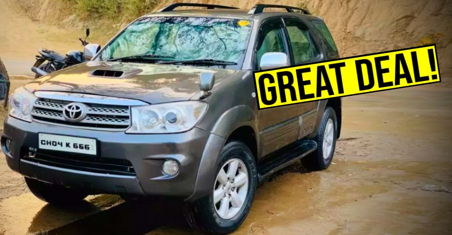 Toyota Fortuner Used Featured 4