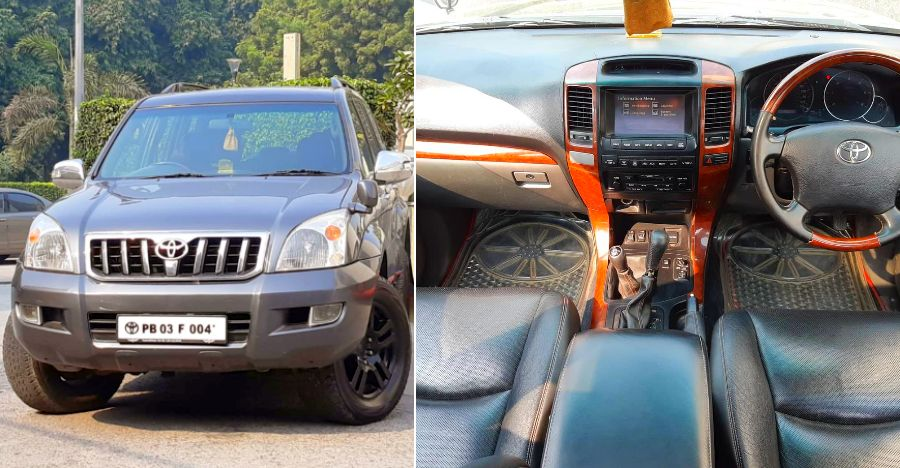 Well-kept, used Toyota Land Cruiser Prado for sale at mouth watering price tag