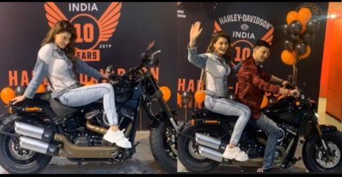 Urvashi Rautela Harley F