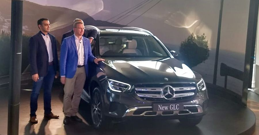 2020 Mercedes Benz Glc Suv Featured