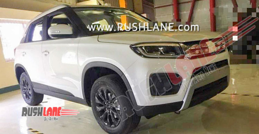 Upcoming Maruti Brezza Facelift: This is IT!