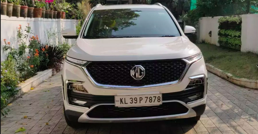 2 nearly-new, used MG Hector SUVs for sale