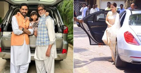 Amitabh Bachchan Family Cars Featured