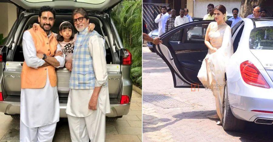 Amitabh Bachchan family's range of luxury cars & SUVs; Range Rover to Bentley