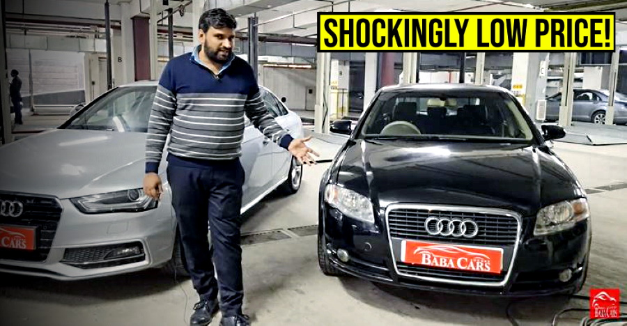 Used Audi A4 luxury sedan for sale: Rs 2.75 lakh only!