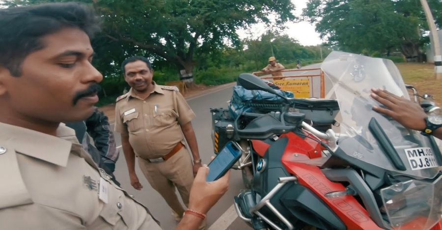 Bmw Superbike Cops Featured