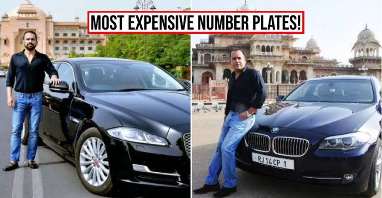 Costliest Car Number Plates Featured