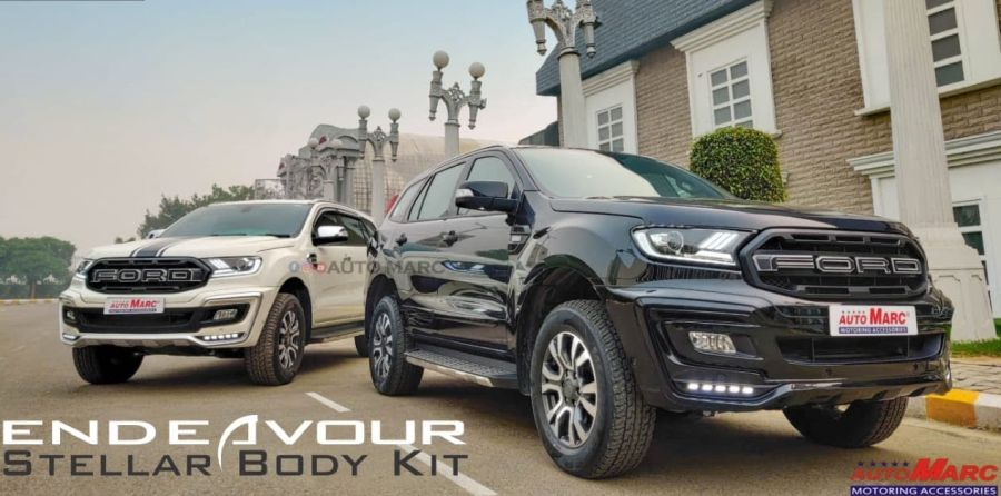 Ford Endeavour 'Stellar Edition' through the after market route [Video]
