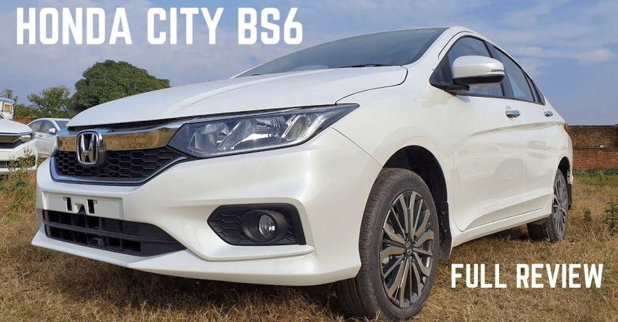 Honda City BS6 in a walkaround video