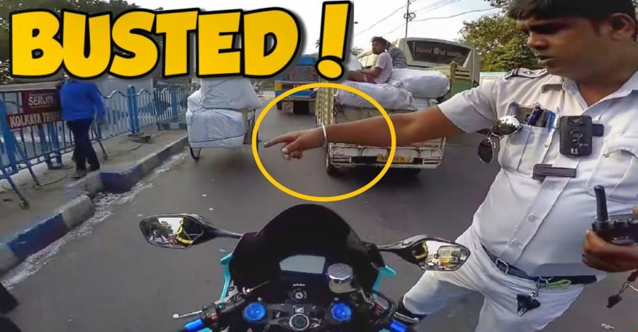 Honda Superbike Rider Busted Featured