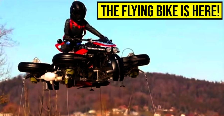This motorcycle worth Rs 3.5 crores is more expensive than a Bentley: It can actually FLY [Video]
