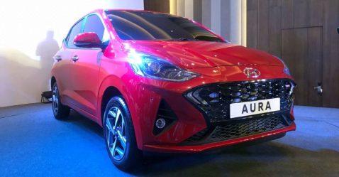 Hyundai Aura Sedan Featured