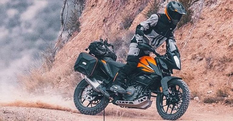 Ktm Adventure 390 Featured