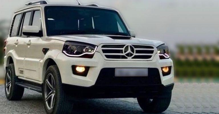 Mahindra Scorpio Mercedes Modified
