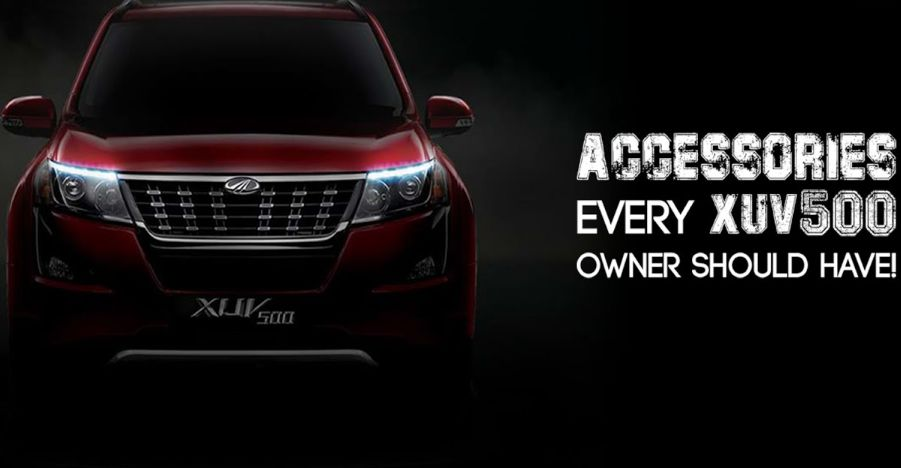 Mahindra showcases official accessories for the XUV500 [Video]