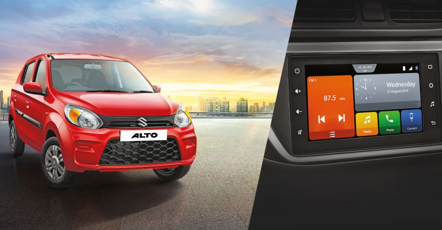 Maruti Alto 800 VXi launched with Touchscreen, Android Auto & Apple CarPlay