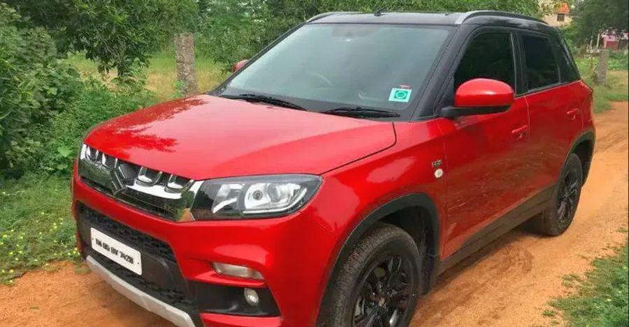 Almost-new used Maruti Suzuki Vitara Brezza SUVs for sale