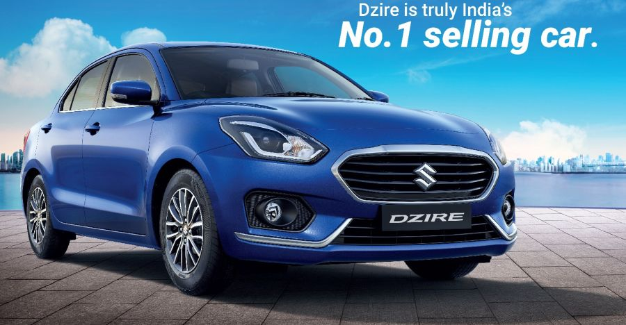 Maruti Dzire is now India's best selling car: 2 million units sold in 10 years