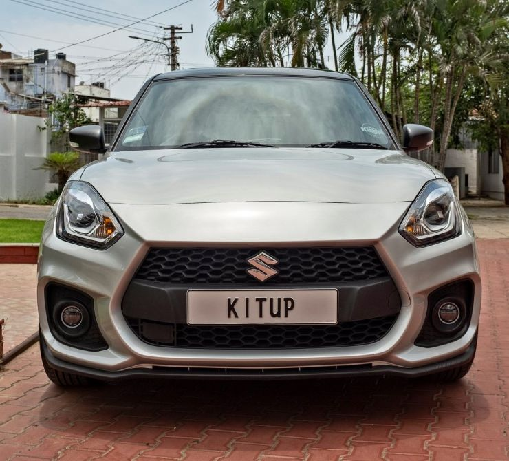 MODIFIED Maruti Swift with the KitUP body kit looks aggressive