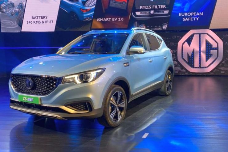MG eZS electric SUV unveiled in India: Hyundai Kona rival's official launch in January 2020