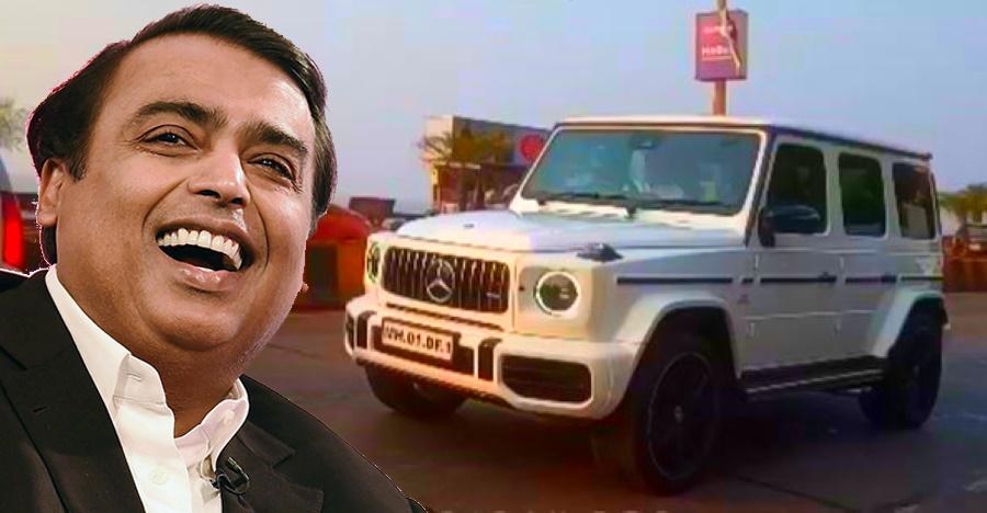 Mukesh Ambani's new car convoy is worth 16 crores: Video shows S-Class, new G63 AMG, Bentayga & more!