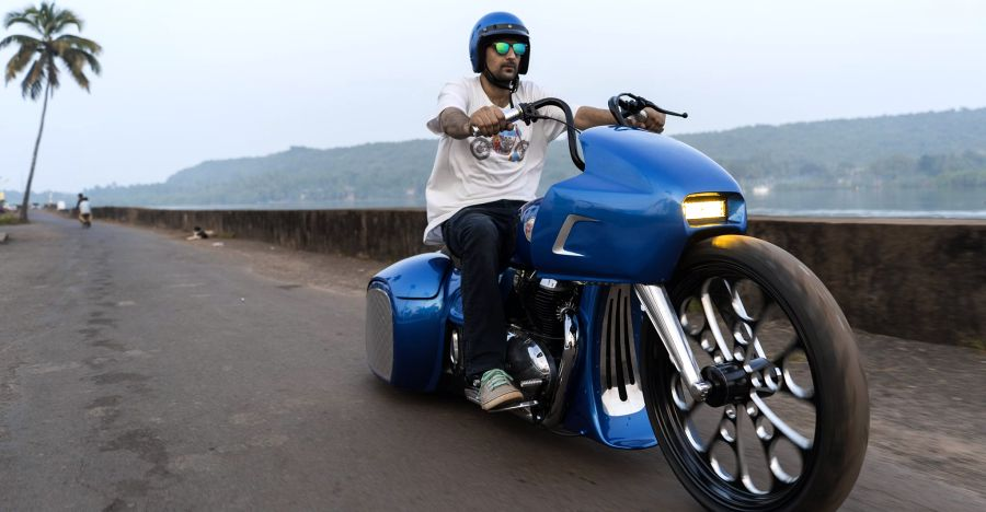 This is India's WILDEST modified Royal Enfield Interceptor