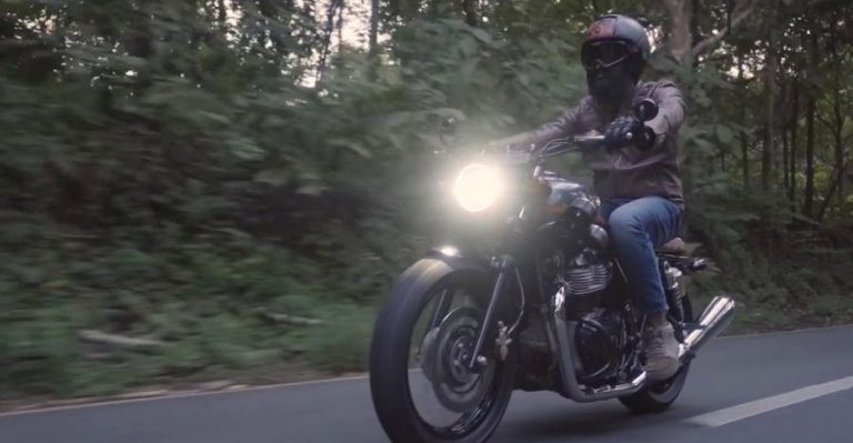 Royal Enfield Interceptor Modified Featured
