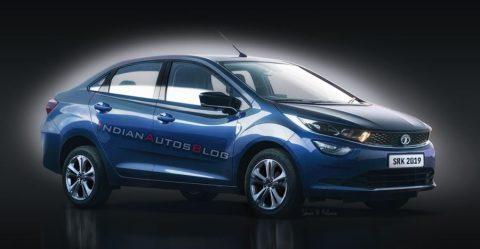 Tata Altroz Sedan Render Featured