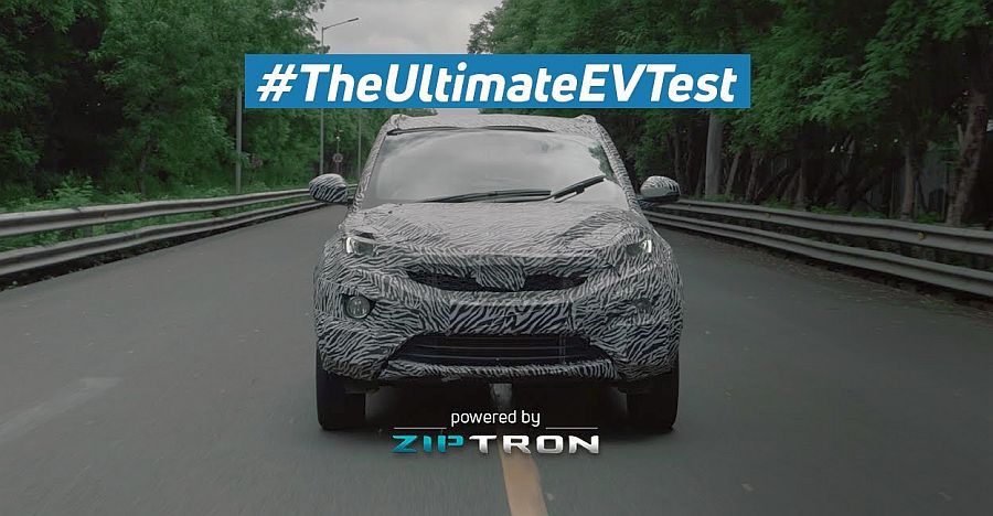 Tata Nexon EV shows off its capabilities: Water wading to high altitude driving [Video]