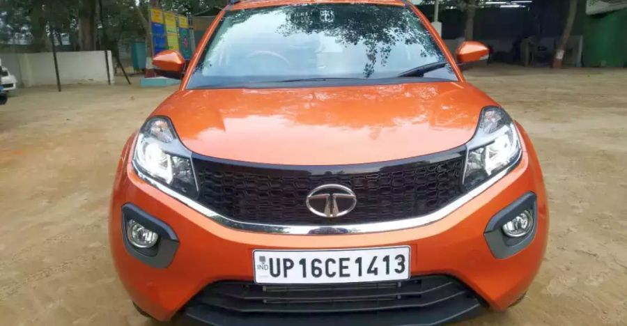 3 sparingly used Tata Nexon compact suvs with under 10,000 Kms on the odo for sale