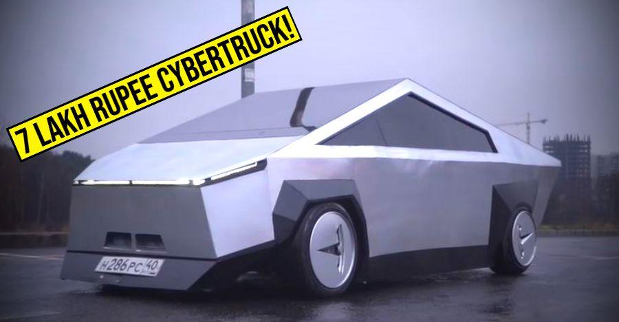 Tesla Cybertruck replica built at just Rs. 7 lakhs [Video]