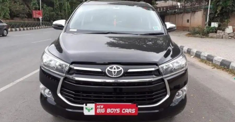 Almost-new used Toyota Innova Crysta MPVs for sale: CHEAPER than new
