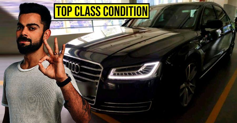Virat Kohli's Audi A8L for sale: Car in top class condition!