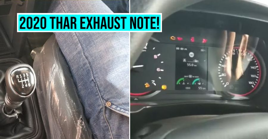 2020 Mahindra Thar Exhaust Note Featured
