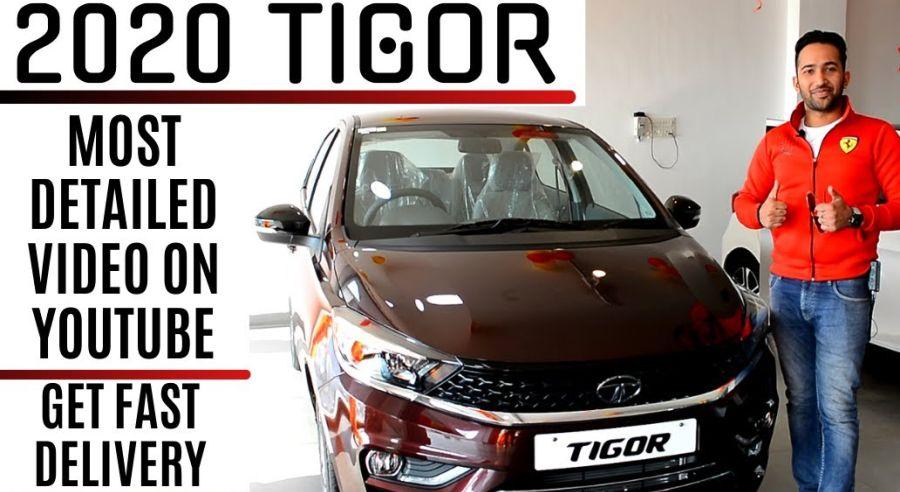 2020 Tata Tigor Warlkaround Featured