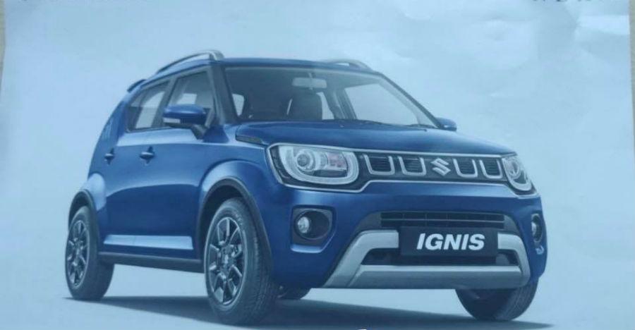 2020 Maruti Suzuki Ignis brochure leaked; All details revealed
