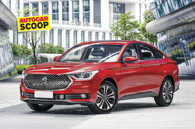 MG Motor's new 'high ground clearance' sedan to challenge Honda Civic & Hyundai Elantra