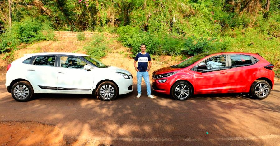 Tata Altroz compared to the Maruti Baleno on video: Most detailed comparison yet