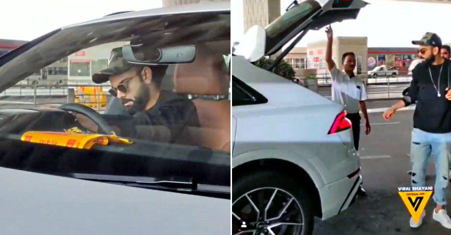 Virat Kohli's latest ride is a 340 Bhp Audi Q8 luxury crossover: Watch him driving it [Video]