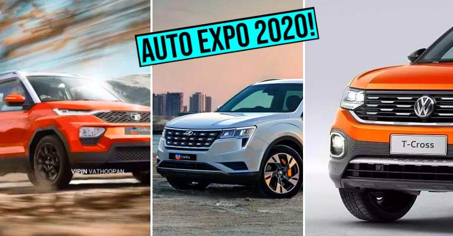 Upcoming Auto Expo cars & SUVs: From Mahindra, Tata, Skoda, Volkswagen, MG and Haval!