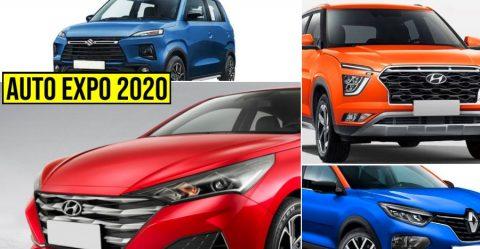 Auto Expo Maruti Hyundai Renault Kia Featured