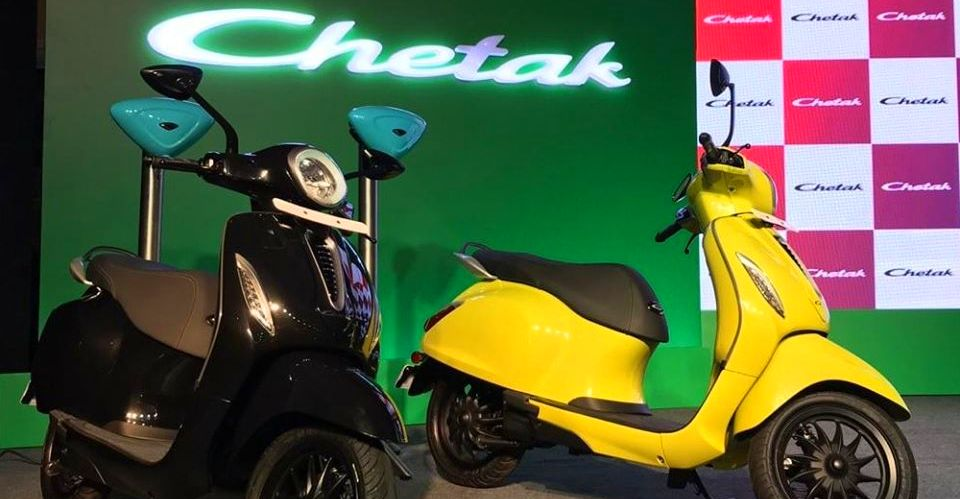 Bajaj Chetak Electric Featured