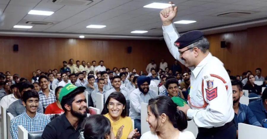 Delhi Police Road Safety Workshop Featured