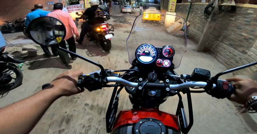 Royal Enfield Himalayan BS6 reviewed on video