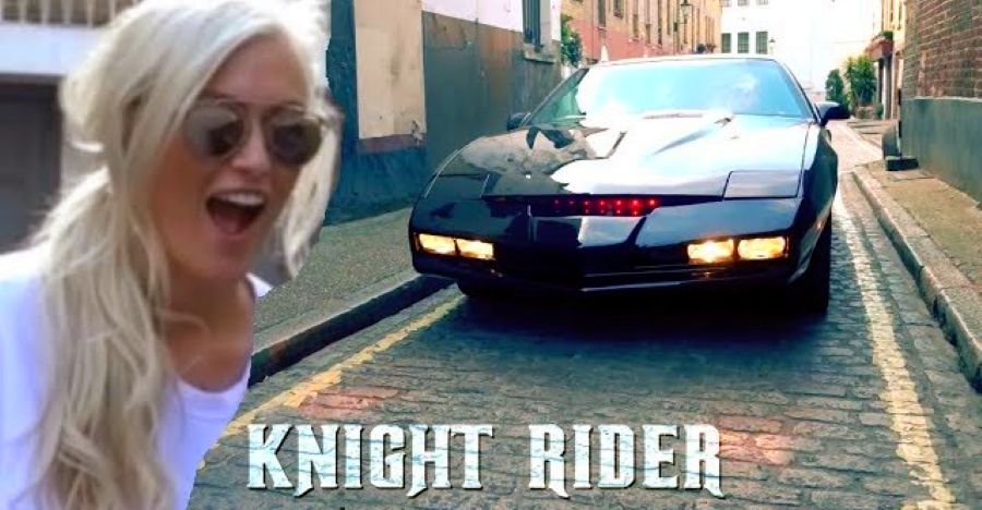 Check out the original 'Knight Rider' KITT car that talks, winks and shoots rockets [Video]