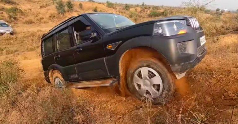 Mahindra Scorpio Off Road Featured