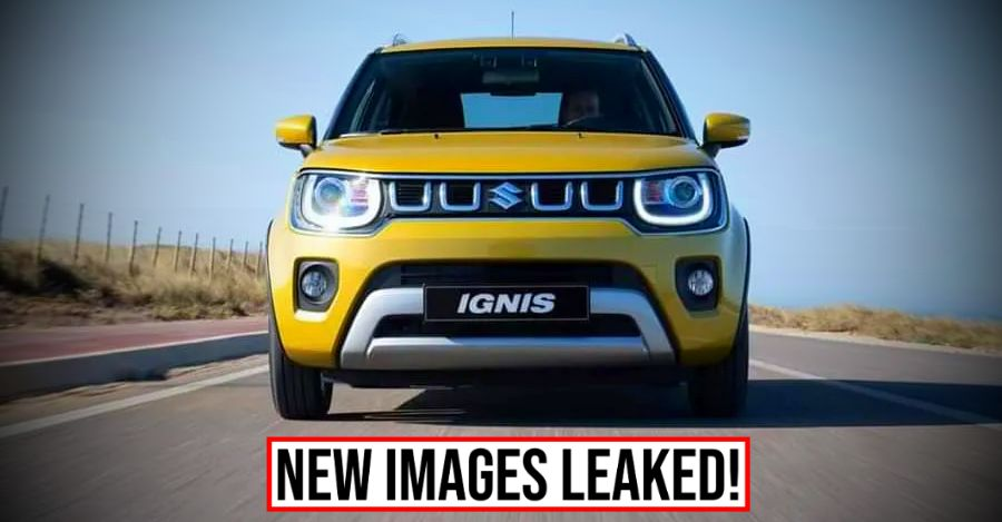 Maruti Suzuki Ignis Facelift: New pictures LEAKED